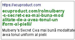 https://ecuproduct.com/ro/mulberry-s-secret-cea-mai-buna-modalitate-de-a-avea-tonul-uniform-al-pielii/